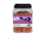 Грин Кьюзин (Green Qzin) лакомство для щенков и собак ХВАТКА юниор (мягкое сушеное мясо кролика), 750 г