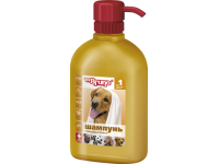 Mr. Bruno (М.Бруно) шампунь-кондиционер для короткошерстных собак №1 Глянцевый блеск, 350 мл