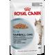 Влажный корм для взрослых кошек в целях профилактики образования волосяных комочков в желудочно-кишечном тракте Royal Canin Hairball Care (в соусе), 85 гр (пауч)
