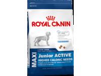 Корм для щенков с высокими энергетическими потребностями до 15 месяцев Maxi Junior Active, 4 кг