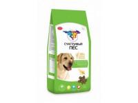 Счастливый пёс для взрослых собак с чувствительным пищеварением Ягненок и рис, 13 кг