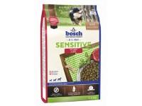 Корм для собак с чувствительным пищеварением Бош Сенситив ягненок с рисом, 1 кг