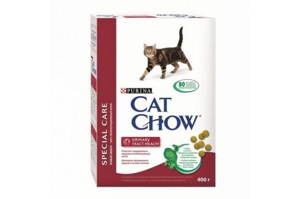 Cat Chow Special Care Urinary Tract Health сухой корм для кошек для профилактики мочекаменной болезни, 400 г