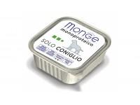 Monge Dog Monoproteico Solo монобелковый паштет для собак из кролика, 150 г
