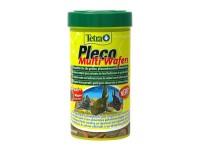 Корм для всех крупных растительноядных донных рыб Tetra Pleco Multi Wafers, 250 мл (таблетки)