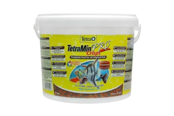 Корм для всех видов рыб Tetra Min Crisps, 10 л (чипсы)