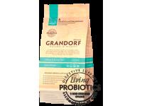 Грандорф для кошек 4 мяса с рисом и пробиотиками 400гр