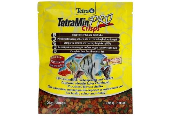 Корм для всех видов рыб Tetra Min Crisps, 12 г (чипсы)